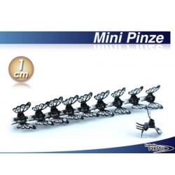 MINI PINZA STRASS  PZ. 10 FARFALLA