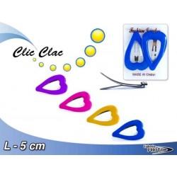 CLIC CLAC COPPIA CUORE CM.7 COLORI ASS.