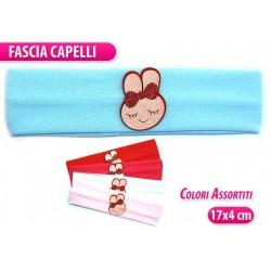FASCIA BIMBA C/CONIGLIETTO  COL.ASSORT.