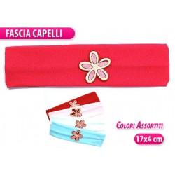 FASCIA BIMBA C/ FIORE COL.ASSORT.