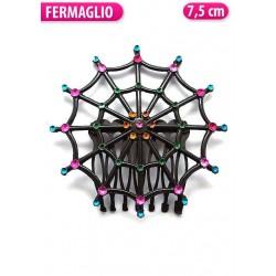 FIANCHINO NERO CON STRASS