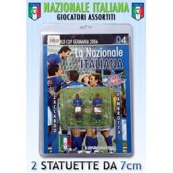 LA NAZIONALE ITALIANA CON GIOCATORI