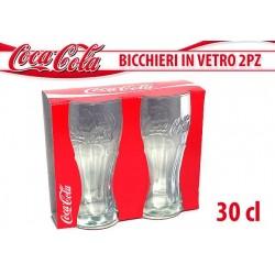 COCA COLA BICCHIERI VETRO 2PZ. 300 ML NS