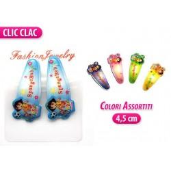 CLIC CLAC 2 PZ. STELLA COLORI ASS.