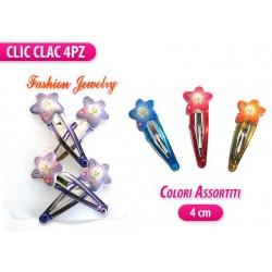 CLIC CLAC 4 PZ. C/ STELLA COLORI ASS.