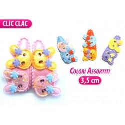CLIC CLAC 2 PZ. CON ORSETTO