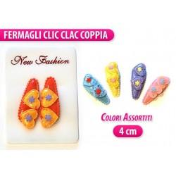 CLIC CLAC 2 PZ. CON CUORE