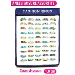 ANELLO FASCETTA COLORI ASS. BOX 50PCS