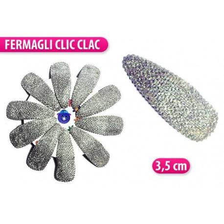 CLIC CLAC ROTELLA 10 PZ. COLORE ARGENTO
