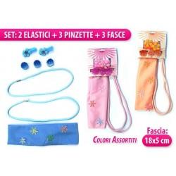 SET FASCIA+PINZE+ELASTICI COL.ASS.
