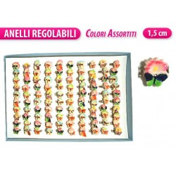 ANELLO BABY BOX 100PCS FIORELLINI