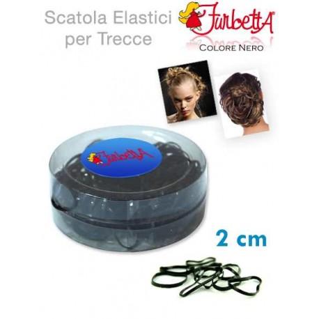 ELASTICO TRECCINA MEDIO BLACK IN SCAT.