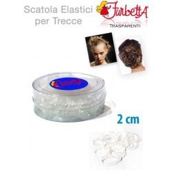 ELASTICO TRECCINA  PER CAPELLI CF.12PCS