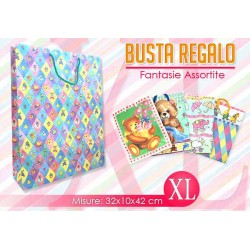 BUSTA REGALO BABY   MIS. XL    NS