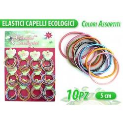 ELASTICO ECOLOGICO COL. ASS. 10 PCS NS