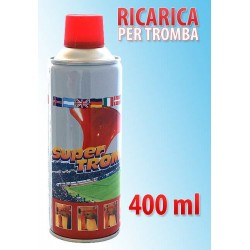 RICARICA TROMBA DA STADIO 400ML   NS