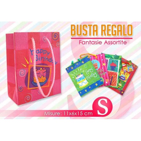 BUSTA REGALO PARTY MIS.   S   NS