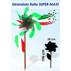 GIRANDOLA ASTA LEGNO MOD. ITALIA CM.42