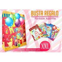 BUSTA REGALO HAPPY BIRTHDAY MIS. XXL  NS