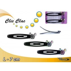 CLIC CLAC STRASS COLORI ASS. CARD2PZ  NS
