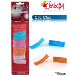 CLIC CLAC STOFF RETT ASS. CARD 10PCS NS