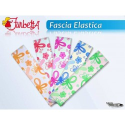 FASCIA ELASTICA CAPELLI 5*20CM 4COL NS