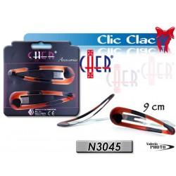 CLIC CLAC 9CM CLASSIC COLOR CARD 2PZ NS
