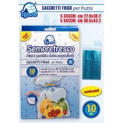 SACCHETTI FRIGO PER FRUTTA PZ.5+5  NS