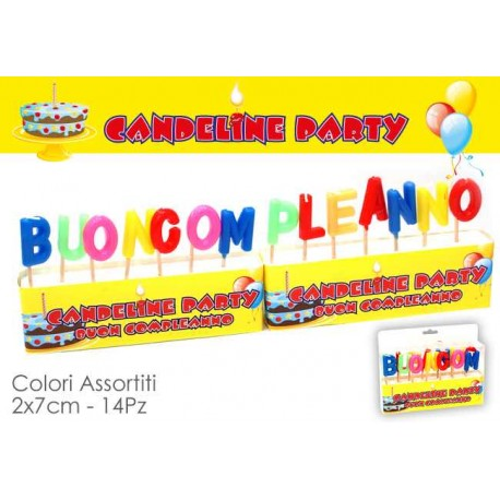 CANDELE BUON COMPLEANNO