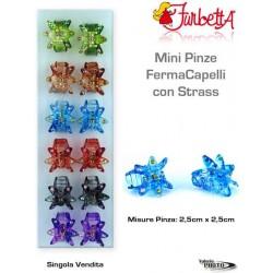 PINZA STELLA C/STRAS 1PCS CARD 12PCS